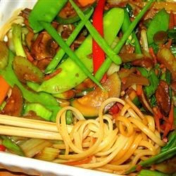 Photo of Lo Mein Noodles by Kay  Bergeron