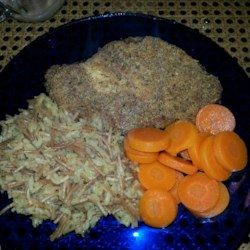 Quick Crispy Parmesan Chicken Breasts Recipe