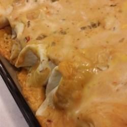 Court's Creamy and Quick Burritos Recipe