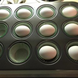 Hard Boiled Eggs in the Oven Recipe