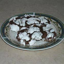 Photo of Chocolate Crinkle Cookies by Flora
