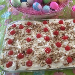 Banana Split Cake II Recipe