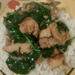 Myra's Basil Chicken Stir Fry Recipe