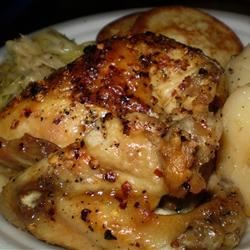 Cider Vinegar Chicken Recipe