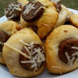 Pesto Sausage Biscuit Bites Recipe