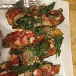 Flourless Eggplant Pizza Recipe