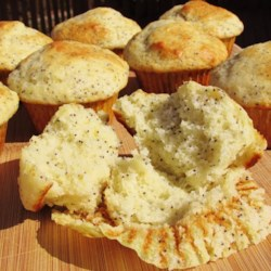 Greek Yogurt Poppy Seed Muffins Recipe