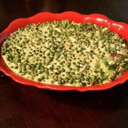Bacon Pea Salad Recipe