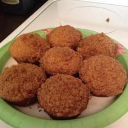 Moist Banana Streusel Muffins Recipe