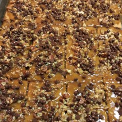 Toffee Pie Bars Recipe