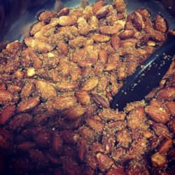 Sweet and Spicy Almonds Recipe