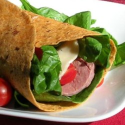 Beef and Swiss Wrap Recipe