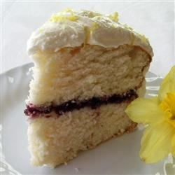 Photo of White Wedding Cake by Carol