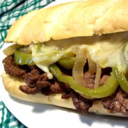 Philly Cheesesteak Sandwich with Garlic Mayo Recipe