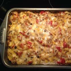Baked Fettuccine Lasagna Recipe