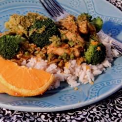 Orange Curry Chicken Recipe