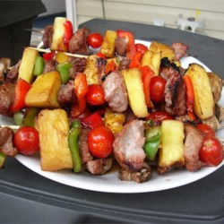 Sensational Sirloin Kabobs Recipe
