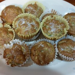 Apple Cinnamon Zucchini Muffins Recipe