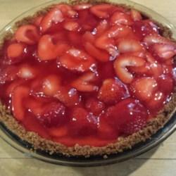 Fresh Strawberry Cheesecake Pie Recipe