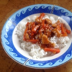 Thai Orange Chicken Recipe