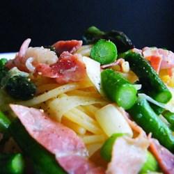 Prosciutto and Asparagus Pasta Recipe