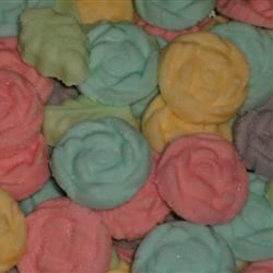 Wedding Mints Close Up