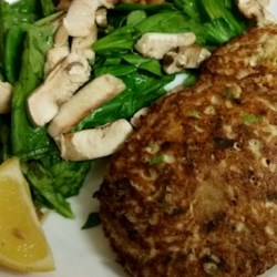 Pan Fried Tuna Patty Recipe