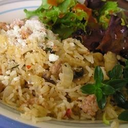Photo of Sausage Rice Pilaf by Debbie Downing
