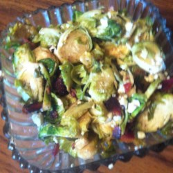 Bacon and Blue Brussels Sprouts Recipe