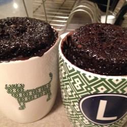 Microwave Nutella(R) Mug Cake