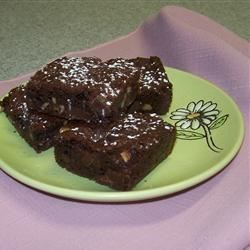 Walnut Brownies with Chocolate Chunks