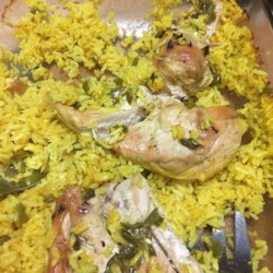 Easy Chicken and Yellow Rice Recipe
