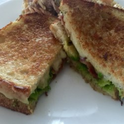 Bacon, Avocado, and Pepperjack Grilled Cheese Sandwich Recipe