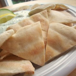 Baked Pita Triangles Recipe