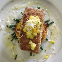 Photo of Macadamia Nut Crusted Mahi Mahi by Chef David Highlander