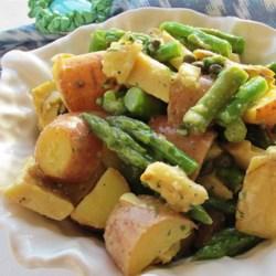 Red Potato, Asparagus, and Artichoke Salad Recipe