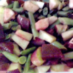 Beet, Bean and Apple Salad
