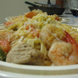 Tex Mex Shark and Shrimp Recipe