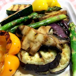 Eggplant Mixed Grill Recipe