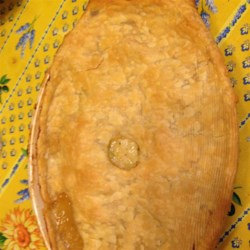 Irish Chicken and Leek Pie