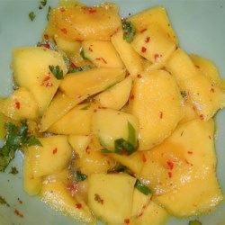 Spicy Mango Salad Recipe