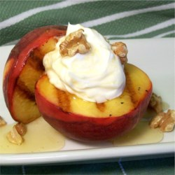 Grilled Peaches and Cream Recipe