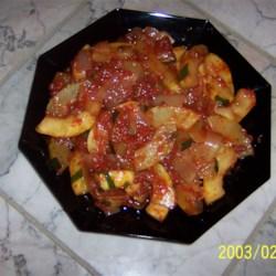 Italian Sauteed Zucchini