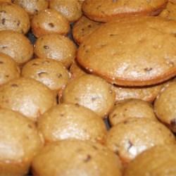 Banana-Orange Chip Muffins