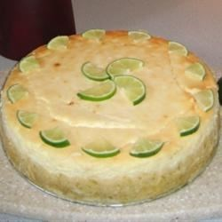 Lime Kissed Cheesecake