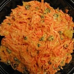 Carrot and Raisin Salad II Recipe