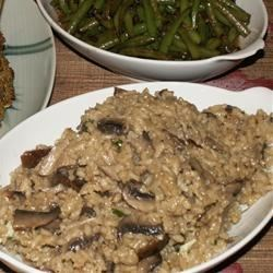 Shiitake and Baby Bella Mushroom Risotto Recipe