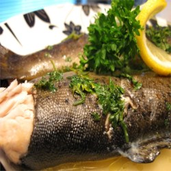 Foil Barbecued Trout with Wine Recipe