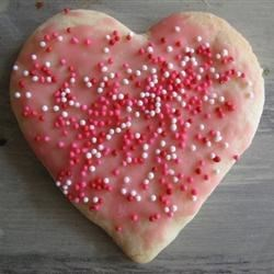 Sugar Cookie Heart