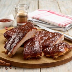Sweet & Spicy St. Louis Ribs